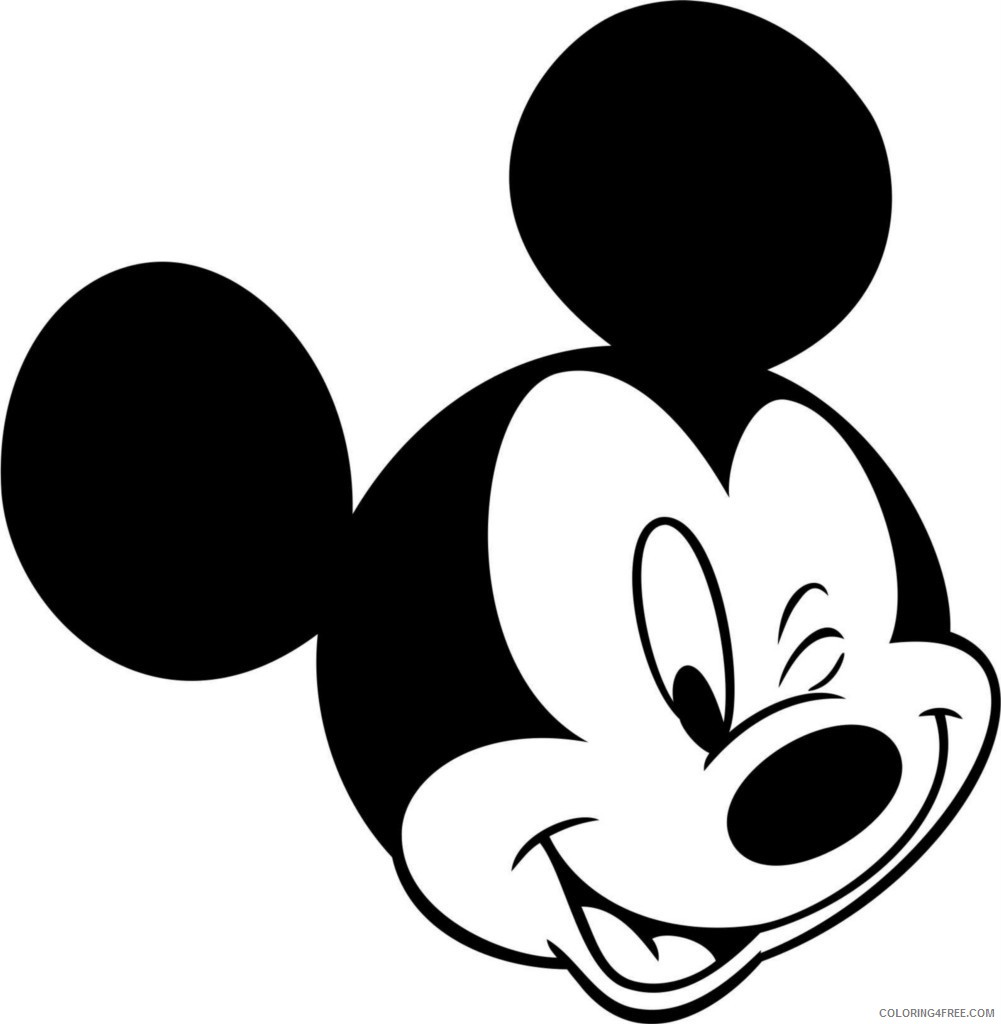 mickey mouse coloring pages for toddlers Coloring4free