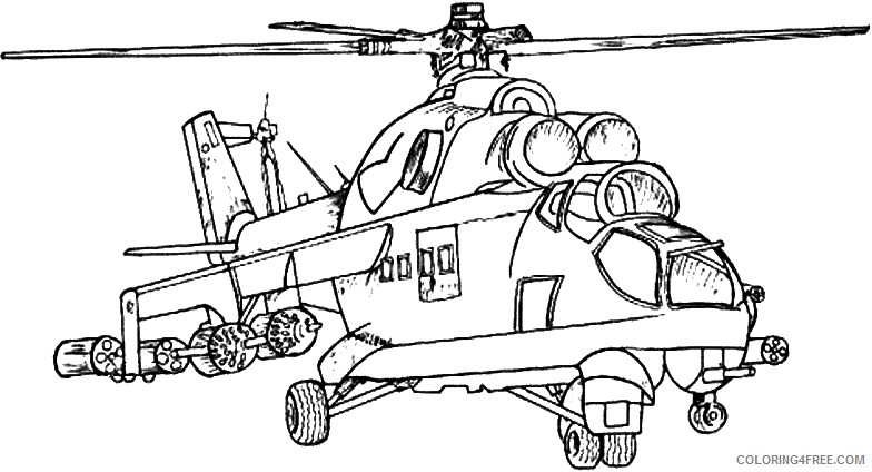 military coloring pages apache Coloring4free
