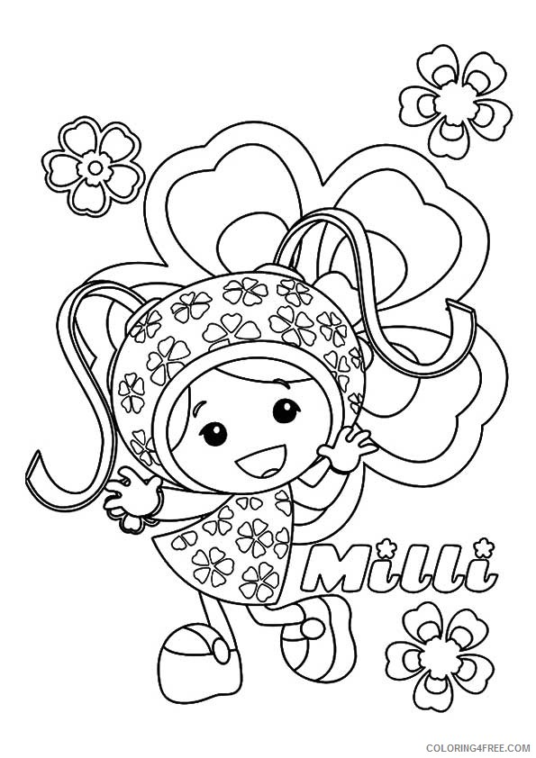 milli team umizoomi coloring pages Coloring4free
