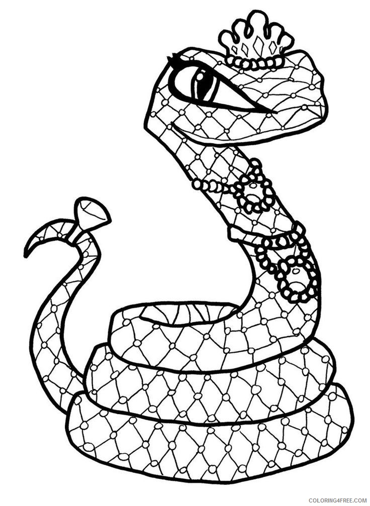 monster high pets coloring pages hissette Coloring4free