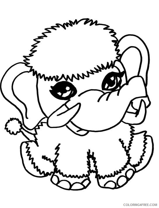 monster high pets coloring pages shiver Coloring4free