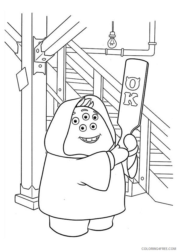 monsters inc coloring pages squishy Coloring4free