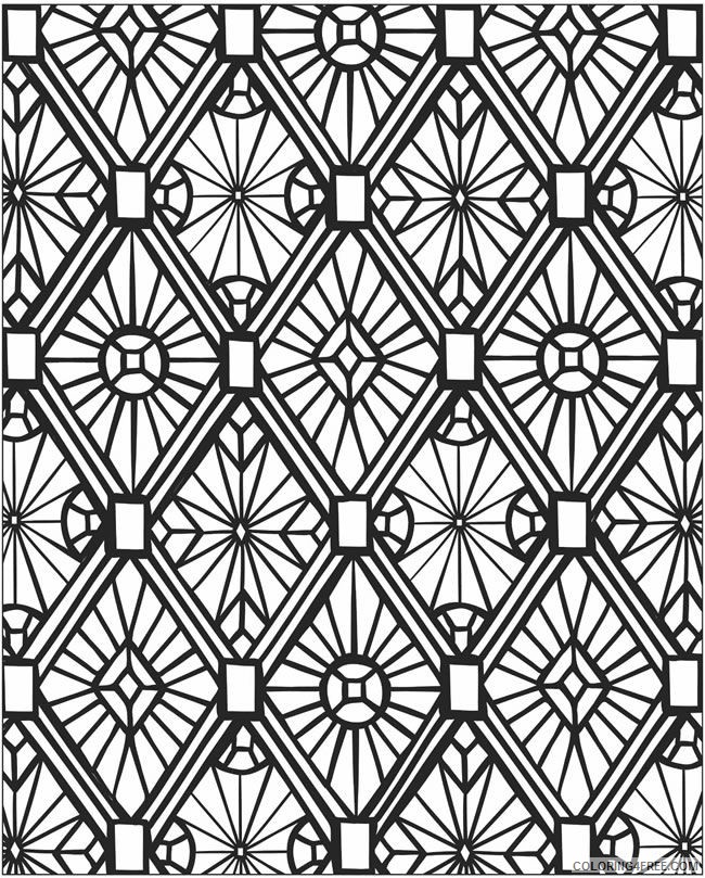 mosaic coloring pages printable Coloring4free