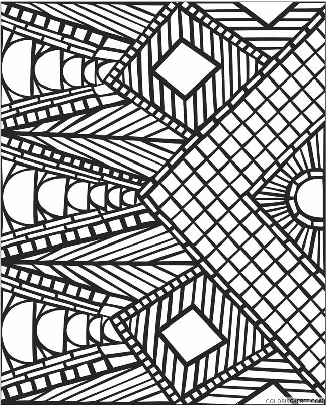 mosaic coloring pages to print Coloring4free