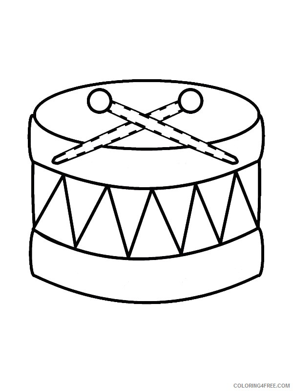 music coloring pages free to print Coloring4free