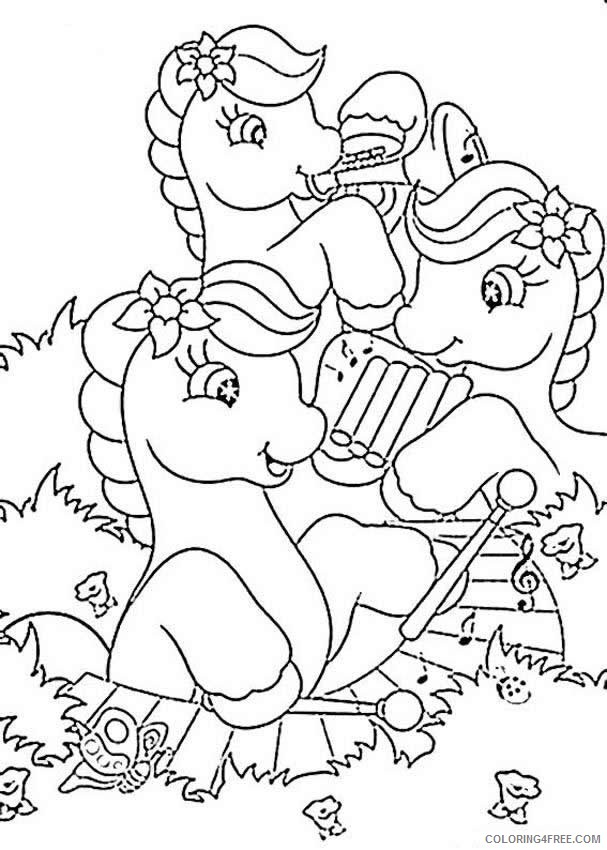 music coloring pages my little pony Coloring4free