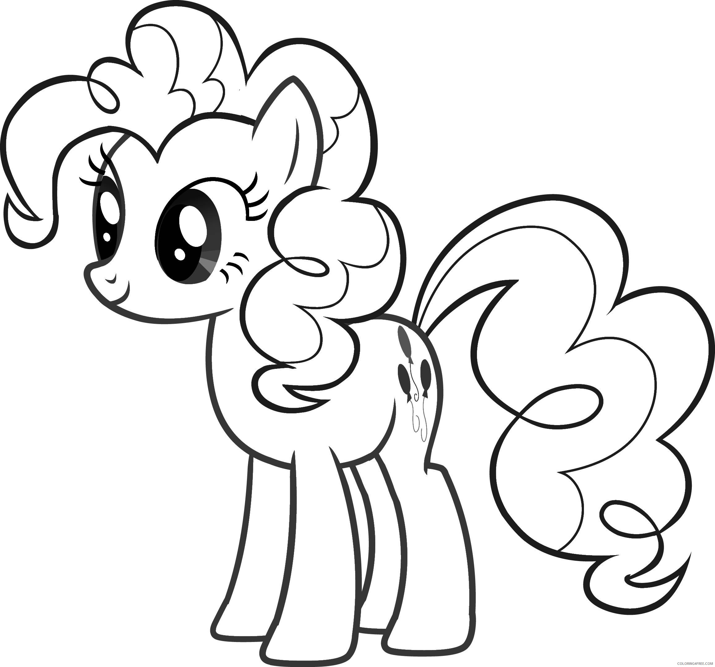 my little pony coloring pages pinkie pie Coloring4free