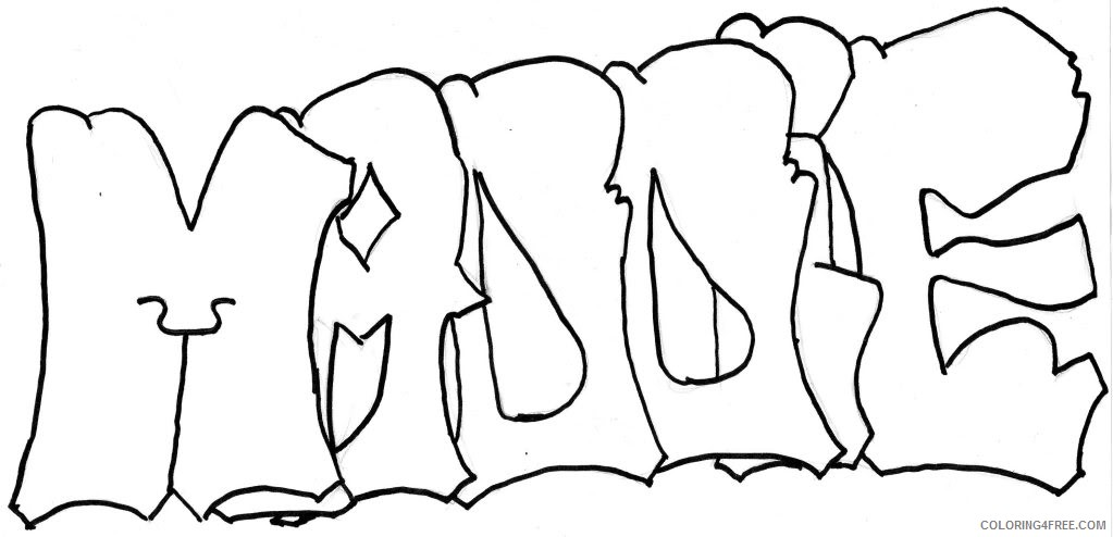 name coloring pages maggie Coloring4free