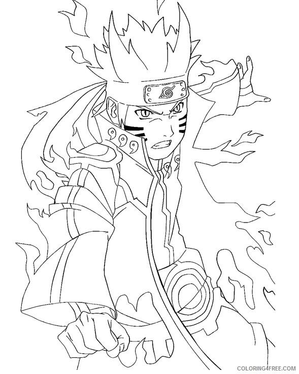 naruto coloring pages rikudou sennin mode Coloring4free