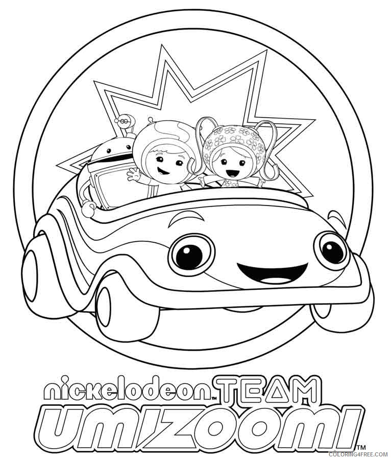 nickelodeon team umizoomi coloring pages Coloring4free
