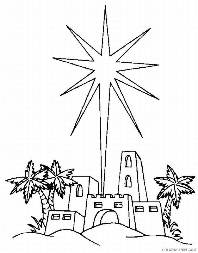 north star coloring pages Coloring4free