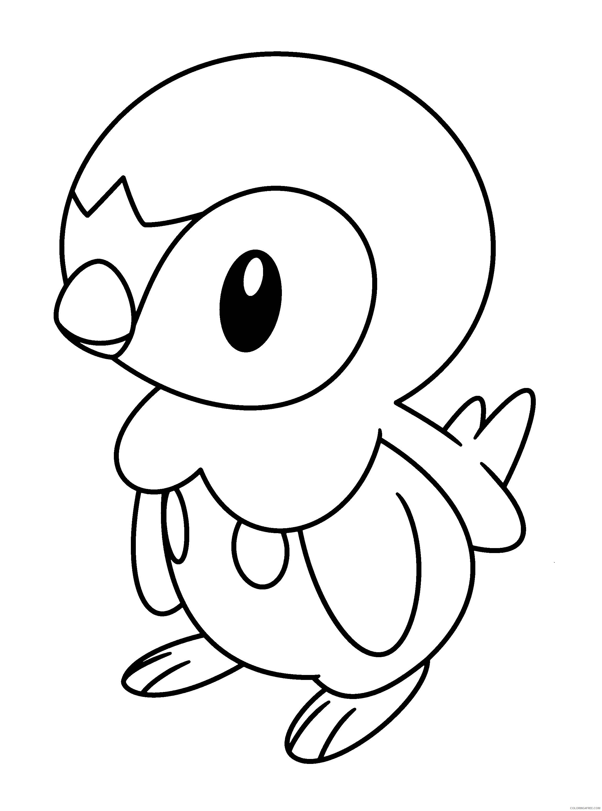 pokemon coloring pages for kids Coloring4free