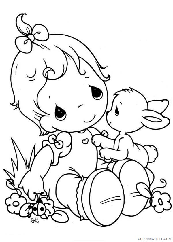precious moments coloring pages baby Coloring4free