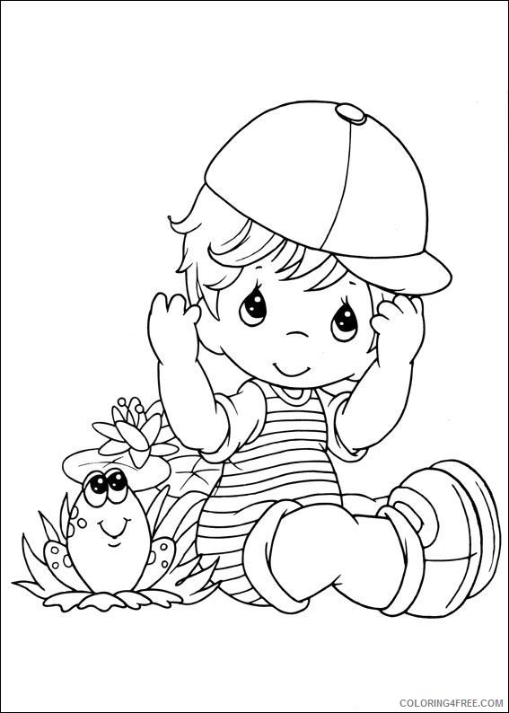 precious moments coloring pages for kids Coloring4free