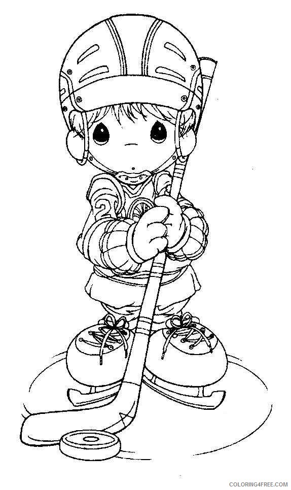precious moments coloring pages sports Coloring4free