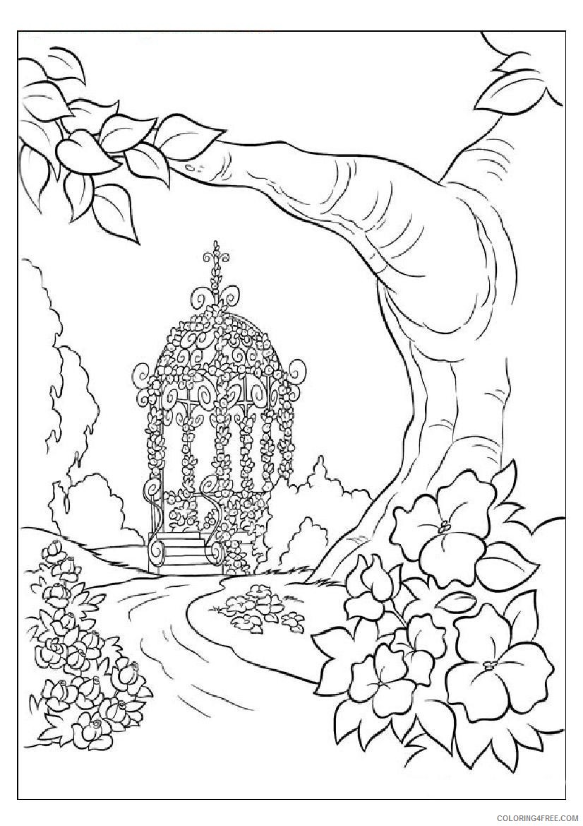 pretty coloring pages for girls Coloring4free