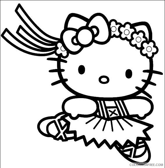 pretty coloring pages for kids Coloring4free