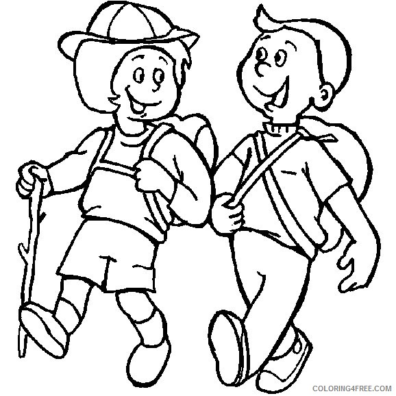 printable camping coloring pages for kids Coloring4free