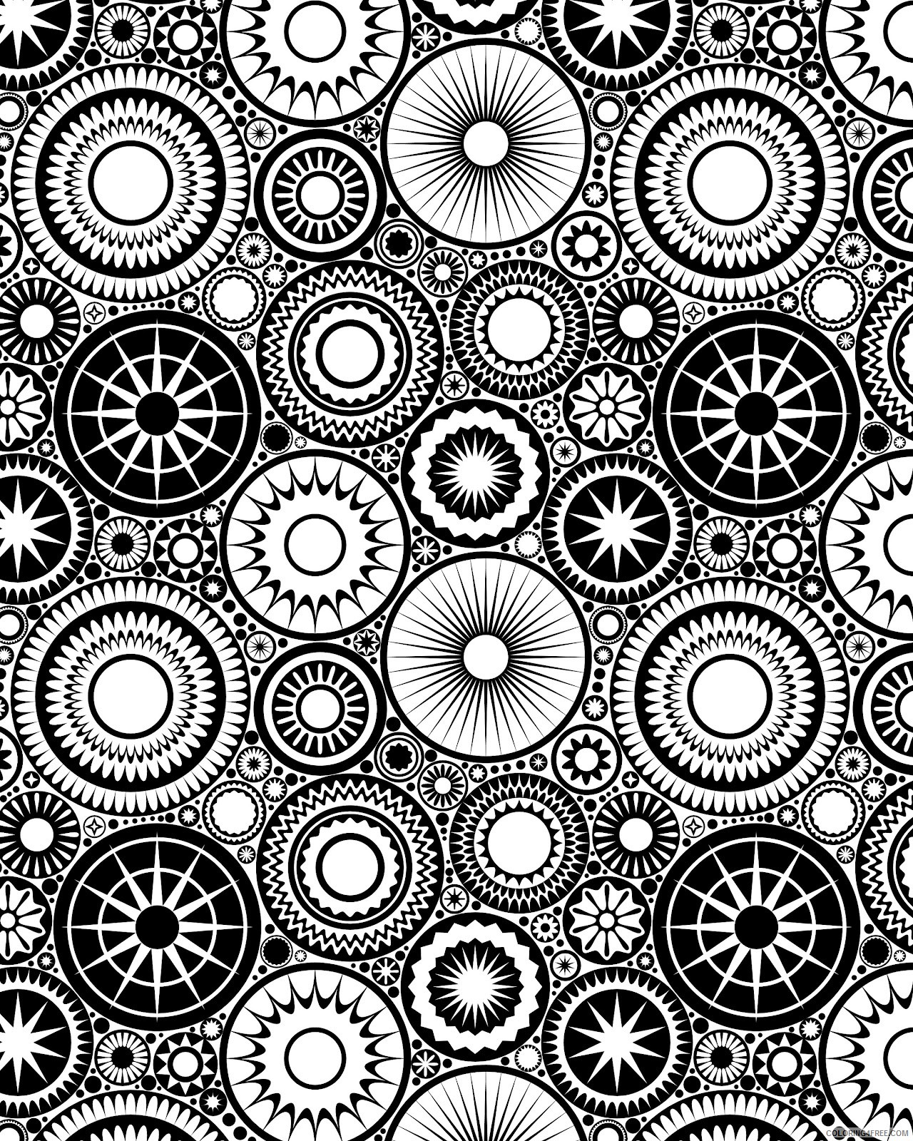 printable design coloring pages Coloring4free