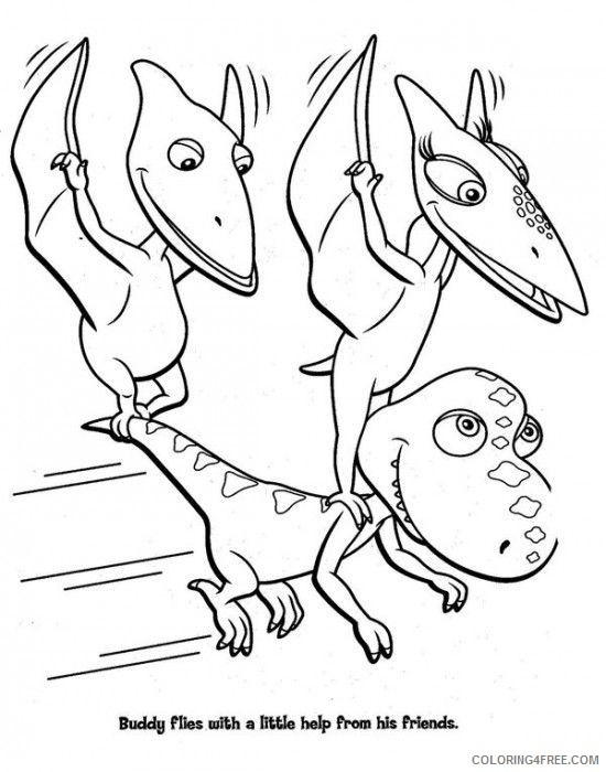 printable dinosaur train coloring pages Coloring4free