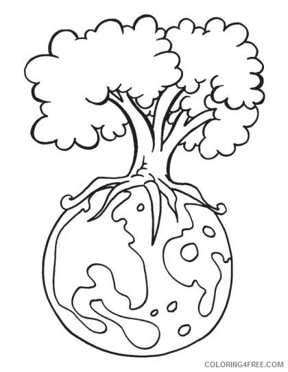 printable earth day coloring pages Coloring4free
