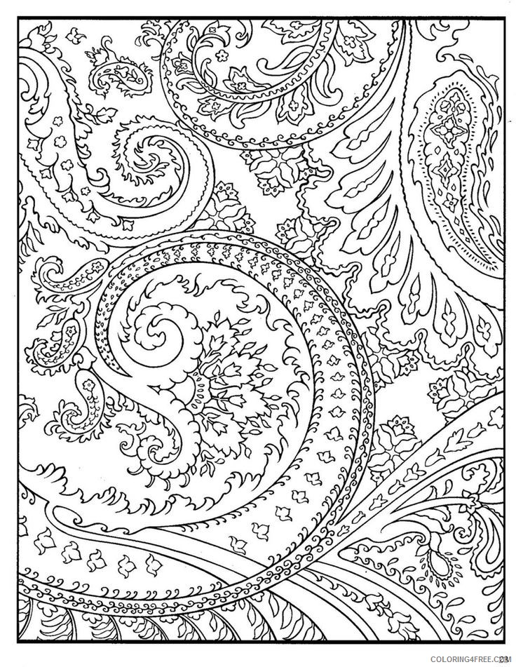 printable hard coloring pages for adults Coloring4free