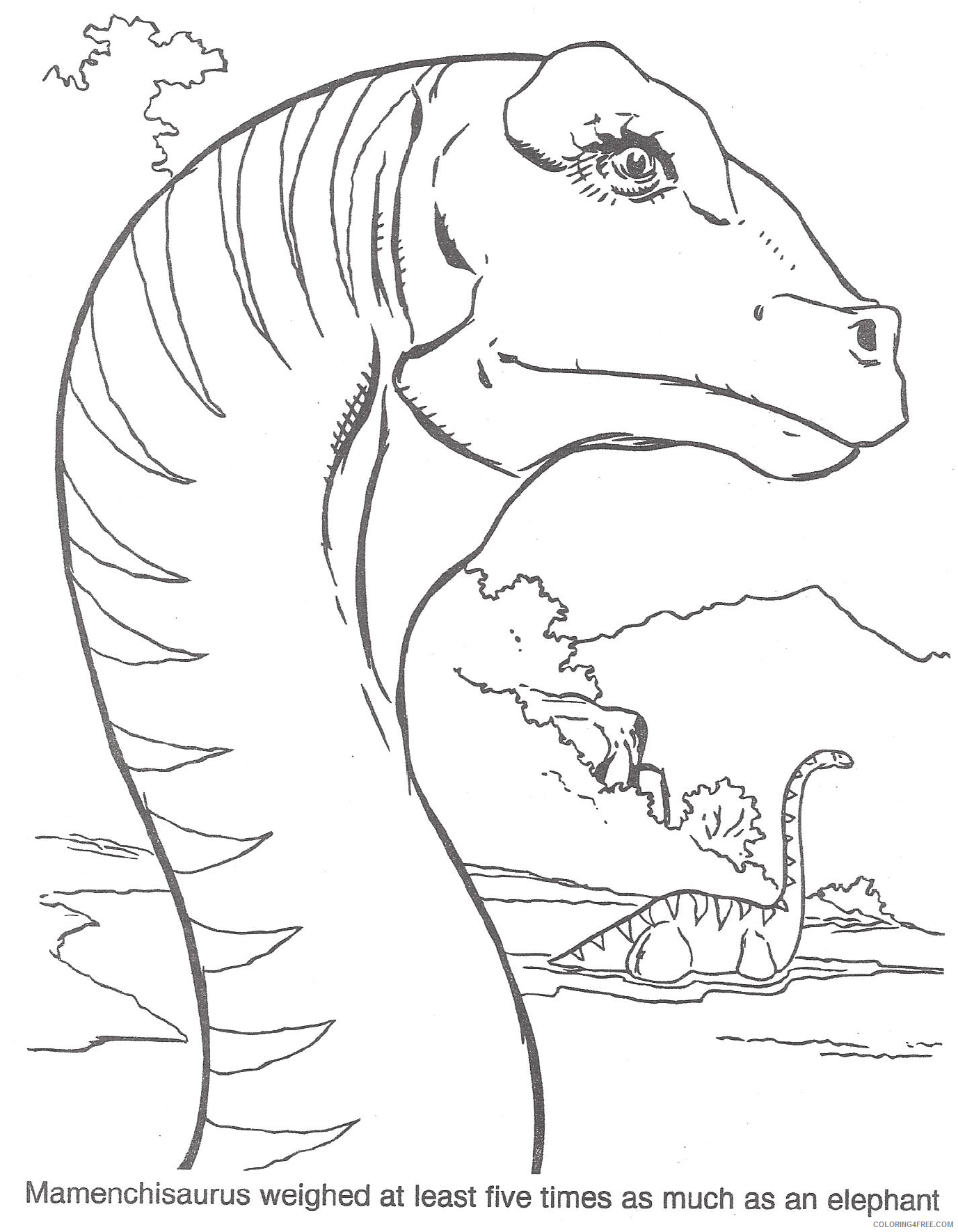 printable jurassic park coloring pages Coloring4free