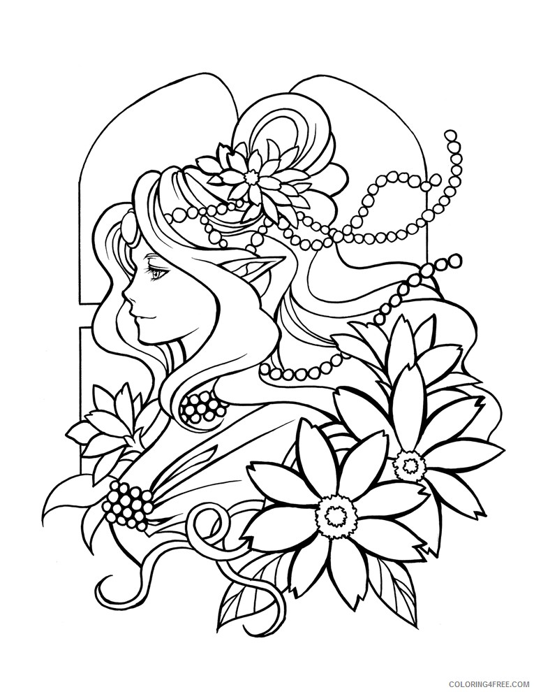 printable manga coloring pages Coloring4free
