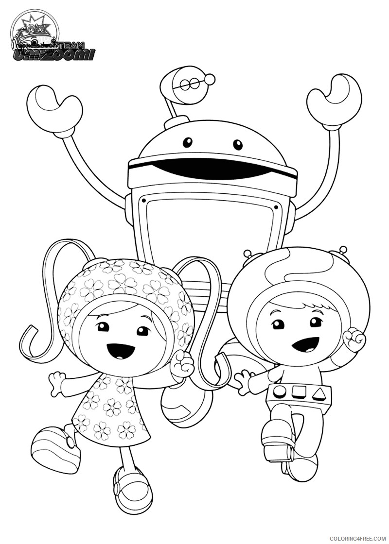 printable team umizoomi coloring pages Coloring4free