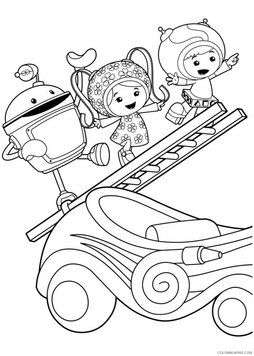 printable team umizoomi coloring pages for kids Coloring4free