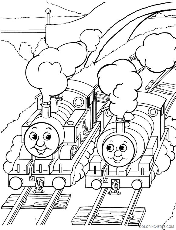 printable thomas and friends coloring pages for kids Coloring4free