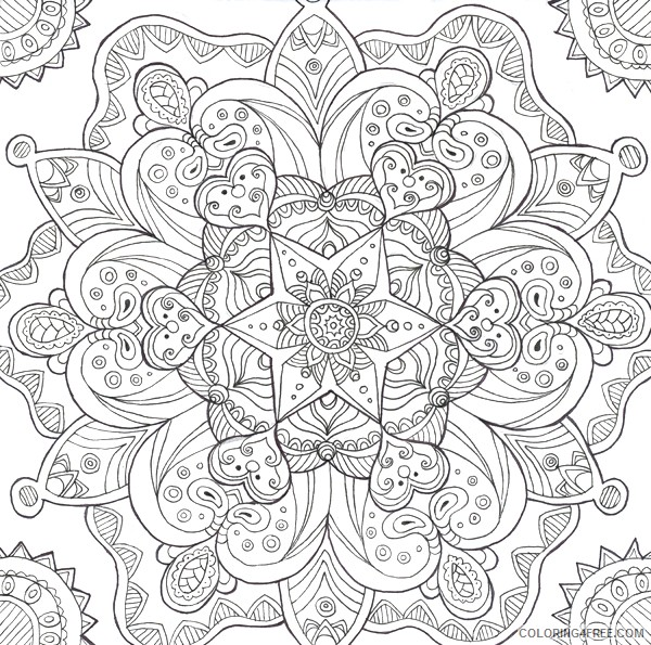 psychedelic coloring pages to print Coloring4free