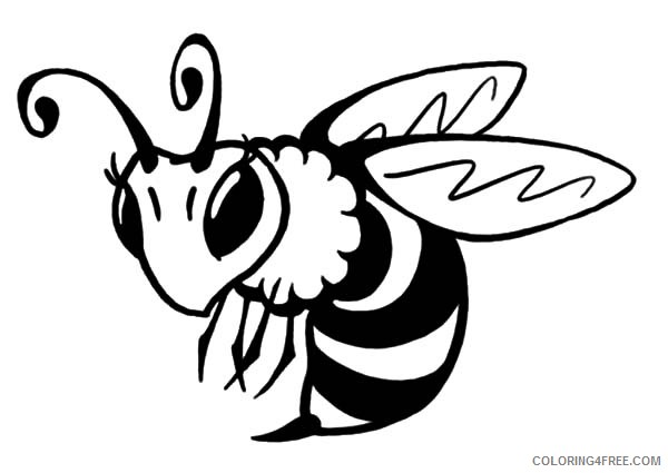 queen bee coloring pages Coloring4free