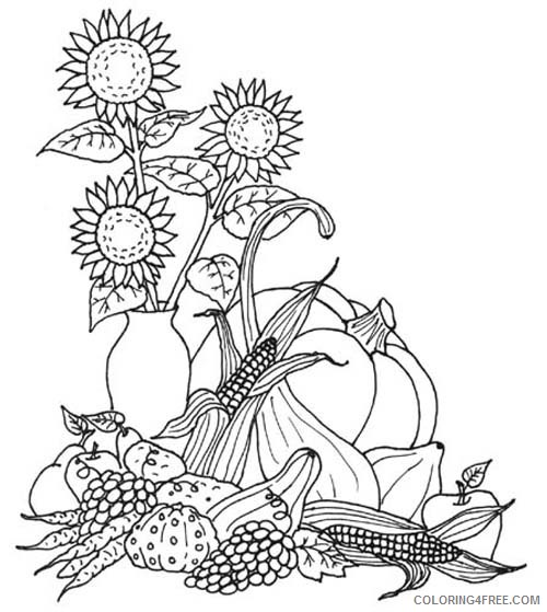 real thanksgiving coloring pages Coloring4free