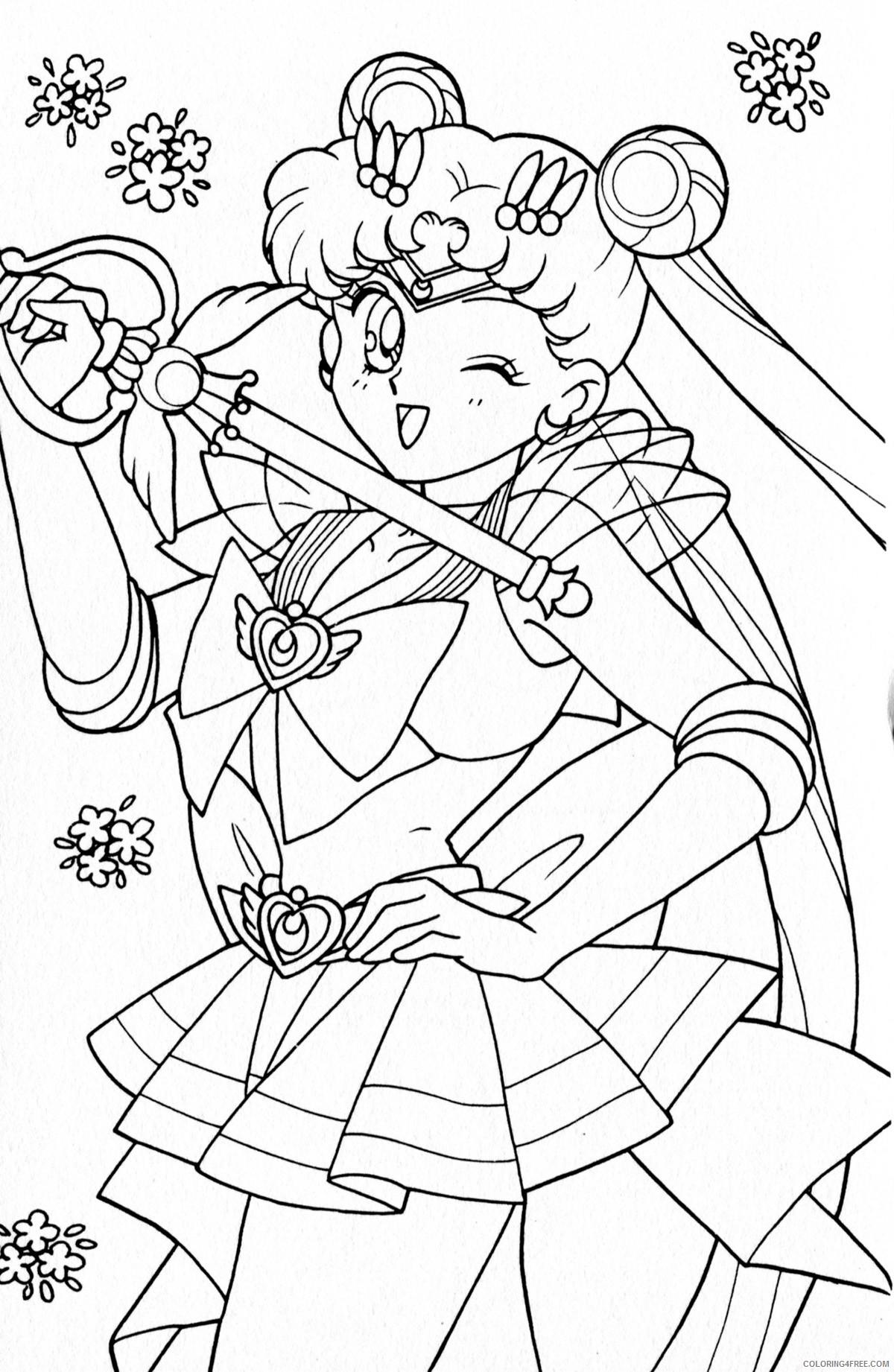 sailor moon crystal coloring pages usagi Coloring4free