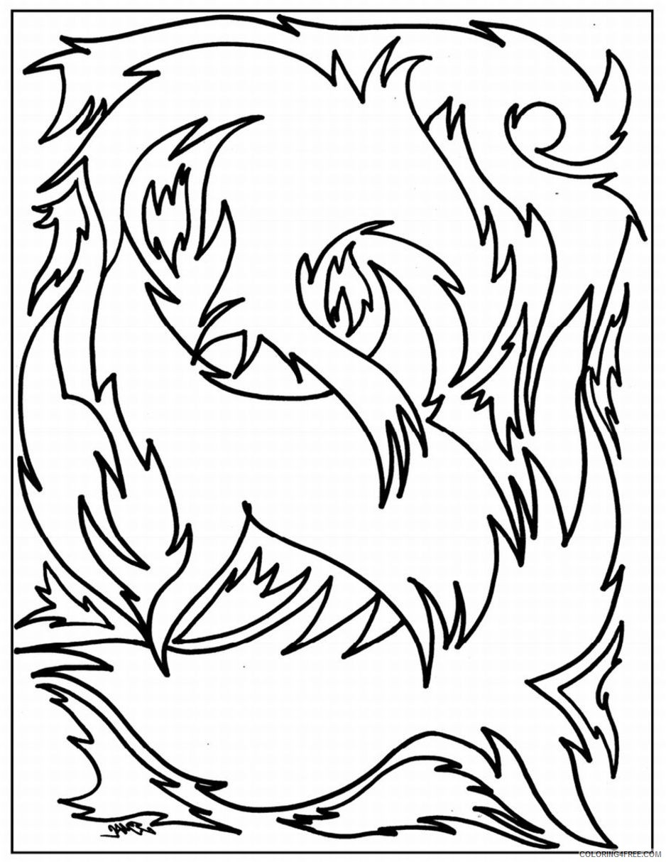 simple advanced coloring pages Coloring4free
