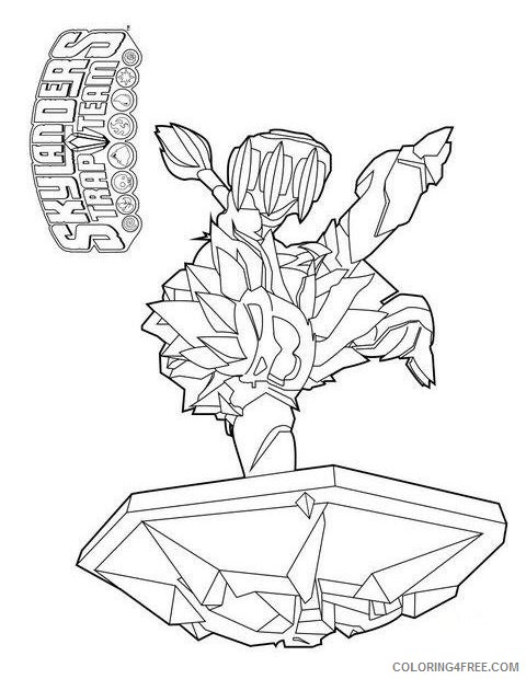 skylanders trap team coloring pages wildfire Coloring4free