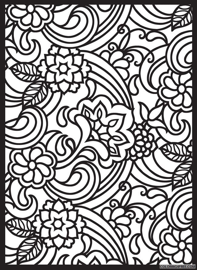 stained glass coloring pages for girls Coloring4free
