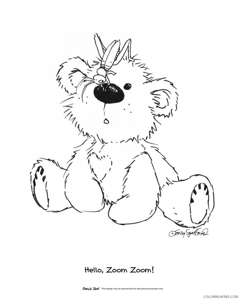 suzys zoo coloring pages boof Coloring4free