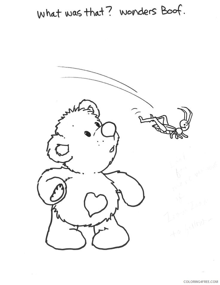 suzys zoo coloring pages boof the bear Coloring4free