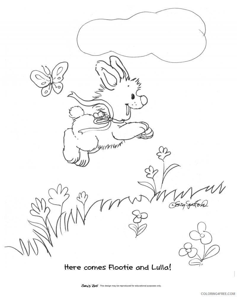 suzys zoo coloring pages lulla Coloring4free