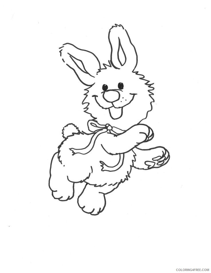 suzys zoo coloring pages lulla rabbit Coloring4free