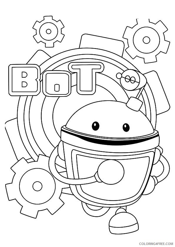 team umizoomi bot coloring pages Coloring4free