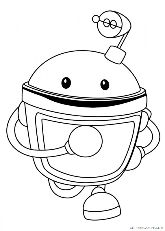 team umizoomi coloring pages bot Coloring4free