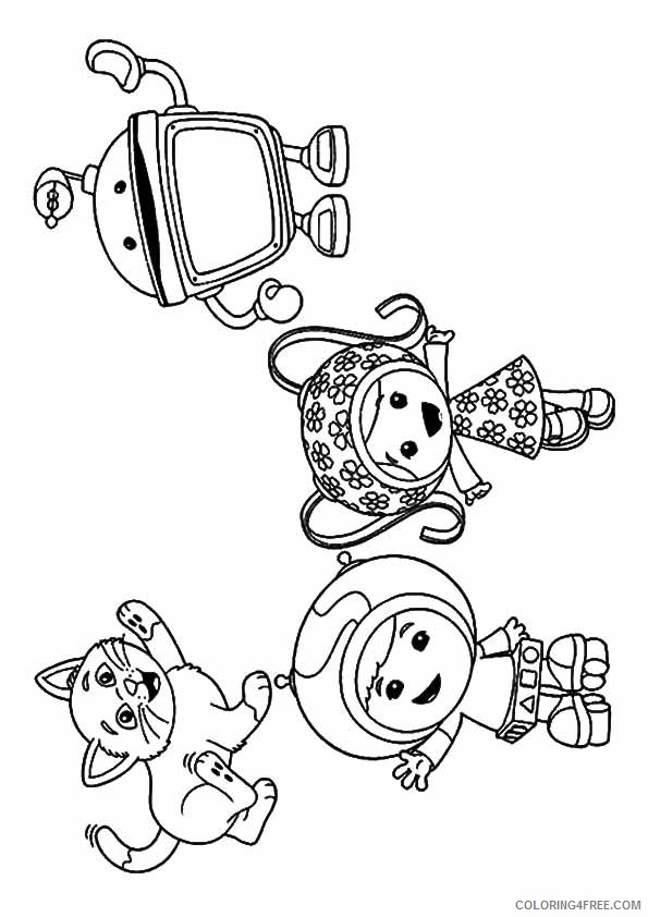 team umizoomi coloring pages free to print Coloring4free