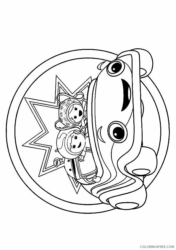 team umizoomi coloring pages umicar Coloring4free