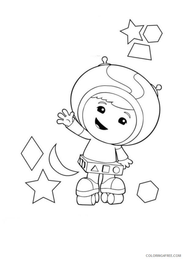 team umizoomi geo coloring pages Coloring4free