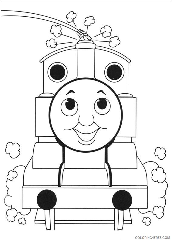 thomas and friends coloring pages for kids Coloring4free