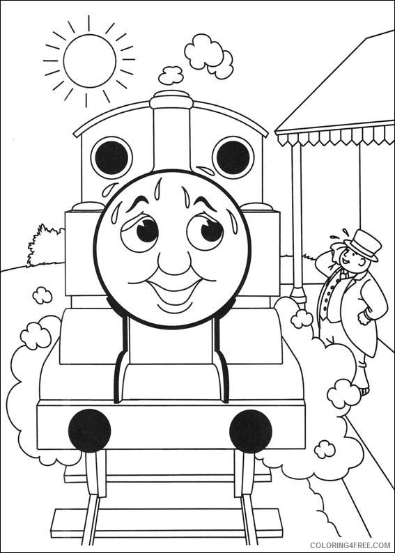 thomas and friends coloring pages sir topham hatt Coloring4free