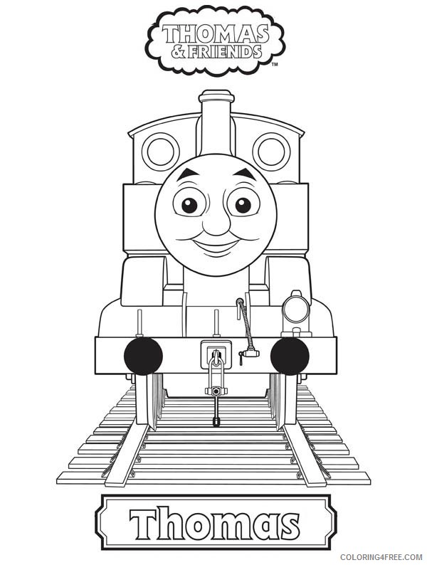 thomas and friends coloring pages thomas Coloring4free